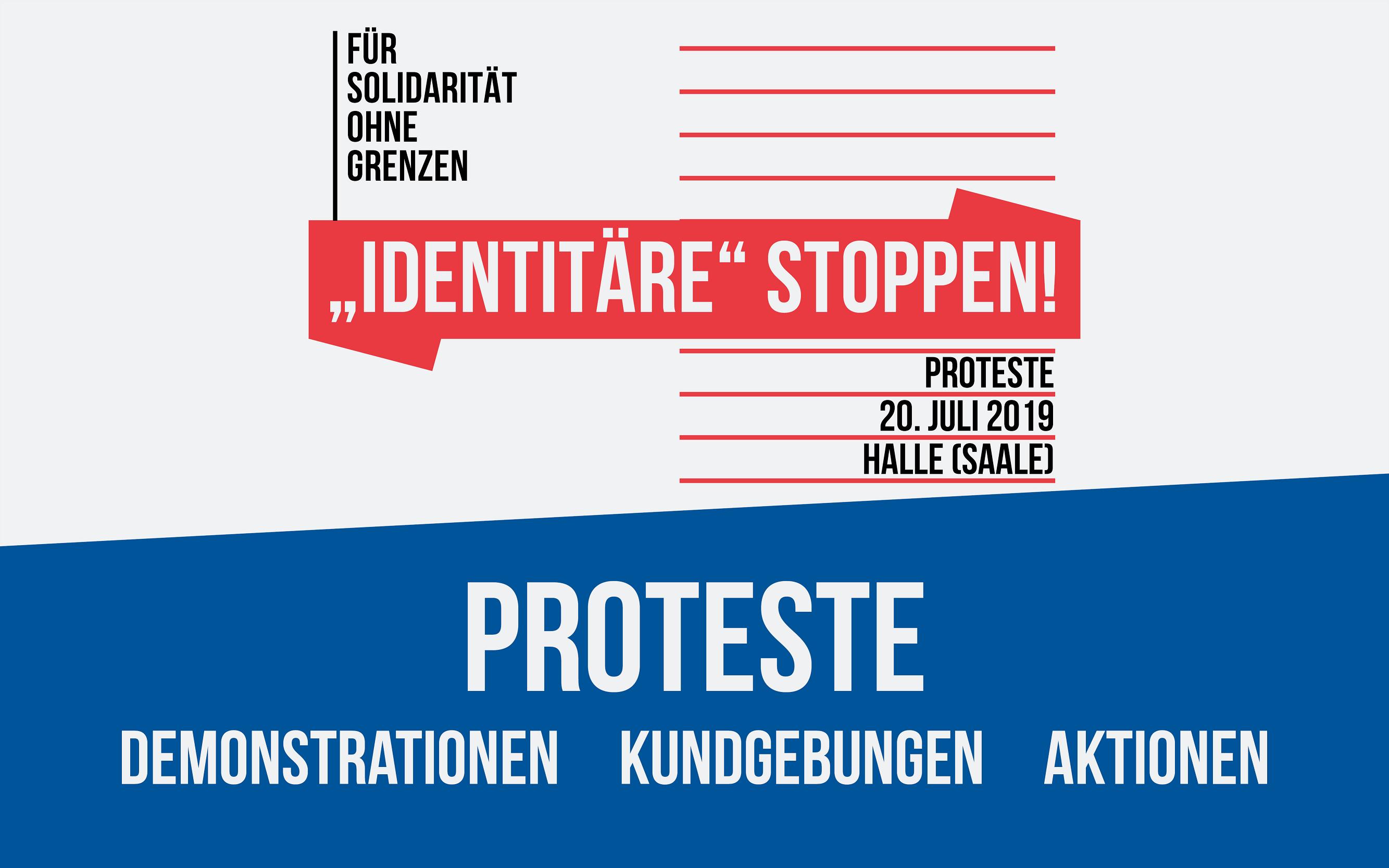 Proteste - Demonstrationen, Kundgebungen und Aktionen